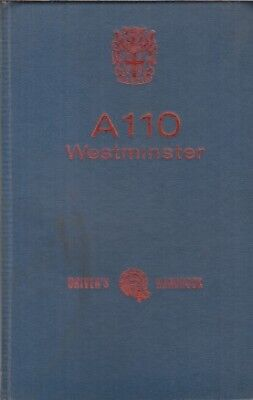 AUSTIN A110 WESTMINSTER MKI ORIGINAL 1963 OWNERS INSTRUCTION HANDBOOK