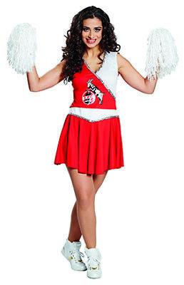 1. FC Köln Cheerleader Kostüm für Erwachsene