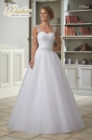 DUBER wedding dress size 10/12 !!!