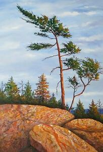 Georgian Bay original paintings by Diane Soward