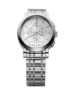 Burberry BU1384 Men's Heritage Chronograph Stainless Watch