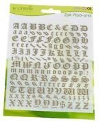 Gold Letters Alphabet