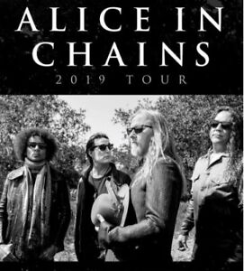 Alice in Chains - Only 1 Pit Ticket Left