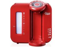 red Tommie tippie perfect prep machine
