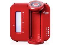 red perfect prep machine