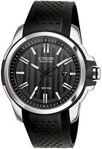 Citizen Men's AW1150-07E AR 2.0 Eco-Drive Stainless Steel Black