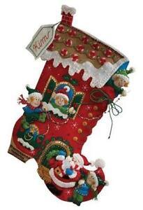 bucilla felt stocking kits - Christmas Stocking Kits