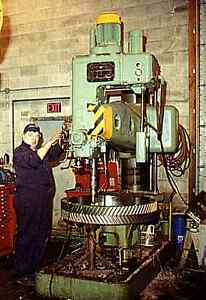 KOLB Radial Arm Drill Press NRK 53 Cnd$ Campbell River Comox Valley Area image 1