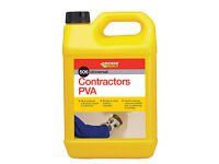 Everbuild Contractors PVA (506 Univesal) 5 litre (two avaliable)