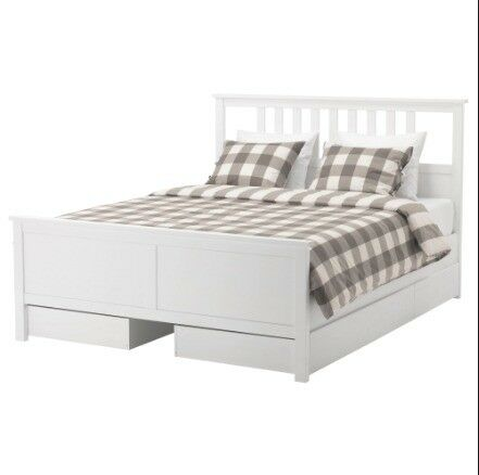 King Size Bed with Mattress and underbed storage drawers | in ...