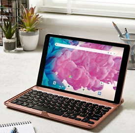 2 tablets with keyboards