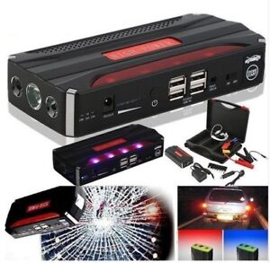68800mAh Car Jump Starter Portable 4 USB Battery Charger