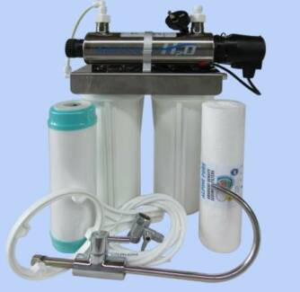UV WATER FILTER UNDER BENCH for SAFE DRINKING WATER