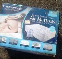 Queen Size Extra Deep Theraputic Air Bed