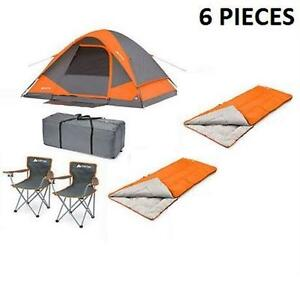 WENZER 6 PIECE CAMPING COMBO