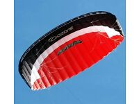 Ozone frenzy kite, bar and harness