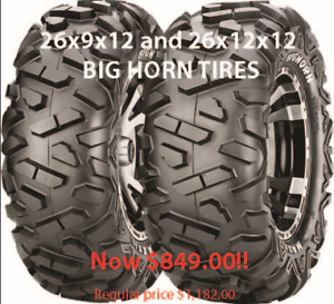 YEAR END TIRE CLEARANCE!!! Fits Polaris RZR and more!