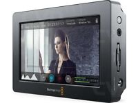 Blackmagic video assist recorder/monitor. Boxed as new.