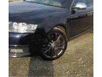 Genuine Audi alloy wheels a6 VW T5 alloys grey 18 inch +tyres