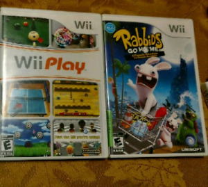 Classic Wii Games - Rabbids, Lost in Shadow, Lego +