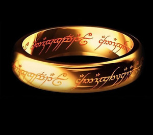 Bague Seigneur Des Anneaux, Ring Lord of the Rings