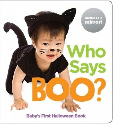 Who Says Boo? : Baby's First Halloween Book, Hardcover by Highlights for Chil...