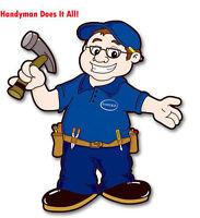 *** Experienced Handyman At Affordable Rates ***