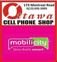 MOBILICITY 173 MONTREAL RD OFFERS $35 unlimited talk ,text ,data