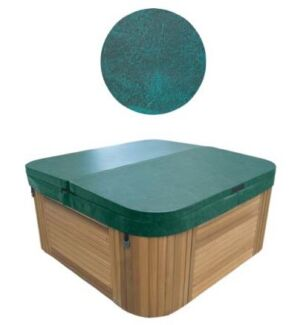 Spa Cover 2000 x 2000 with 267 radius - Green