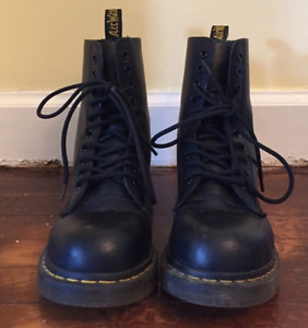DR. MARTENS - Air Wair - Leather & Steel