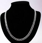 Mens Solid Silver Chain