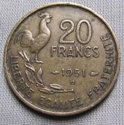 1951 20 Francs