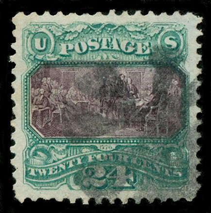 Momen: Us Stamps #120 Used Pse Graded Xf-90