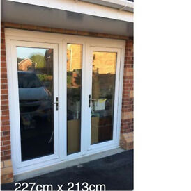 UPVC Double Opening Doors Brand New Removed From Showhouse
