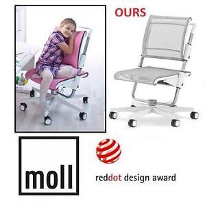NEW MOLL SCOOTER CHILDREN CHAIR - 116483141 - Moll Scooter 15 Ergonomic Chair