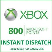 800 Microsoft Points