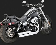 Harley header pipes + Vance and Hines mufflers Taringa Brisbane South West Preview