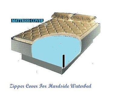California King Zipper Mattress Cover For Hardside Waterbeds