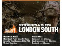 2 Tough Mudder tickets - London South, Sunday September 25th £70 each