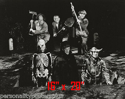 Three Stooges~Halloween~Photo~Personality Poster 16