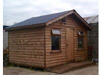 Log cabins ( Garden rooms ) Garden Sheds