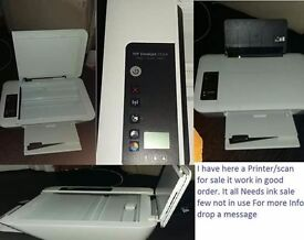 Hp WIRELESS ALL IN ONE COLOUR PRINTER