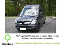 Mercedes Sprinter 316 CDi 2012 Long with Leather -- Read the description before replying!!