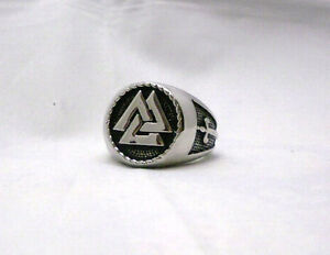 The-Vikings-Valknut-Ring-Warriors-Knot-Nordic-God-Odin-Knot-of-the-Fallen-Ring