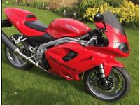 Lovely 2005/55 plate Triumph Daytona 955i - first to see will buy!
