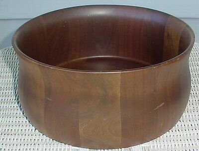 Solid American Walnut Bowl Diversified Industries Division Lebanon Mo