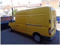 Man with van , waist collection