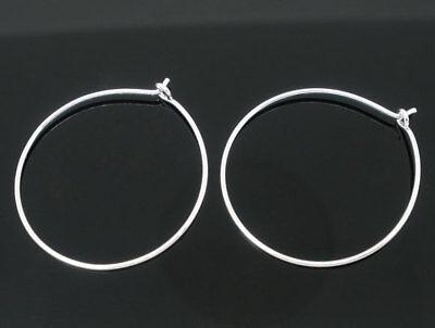 inglas Glas Marker Glasmarker/Ohrring 29x25mm (Weinglas Ringe)
