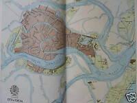 Veneto_venezia_topografia_viabilita'_canali_darsena_antica Cartografia_d'epoca -  - ebay.it