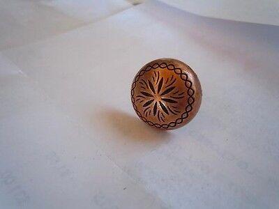 25 Sunburst Upholstery Tacks 5/8 Copper